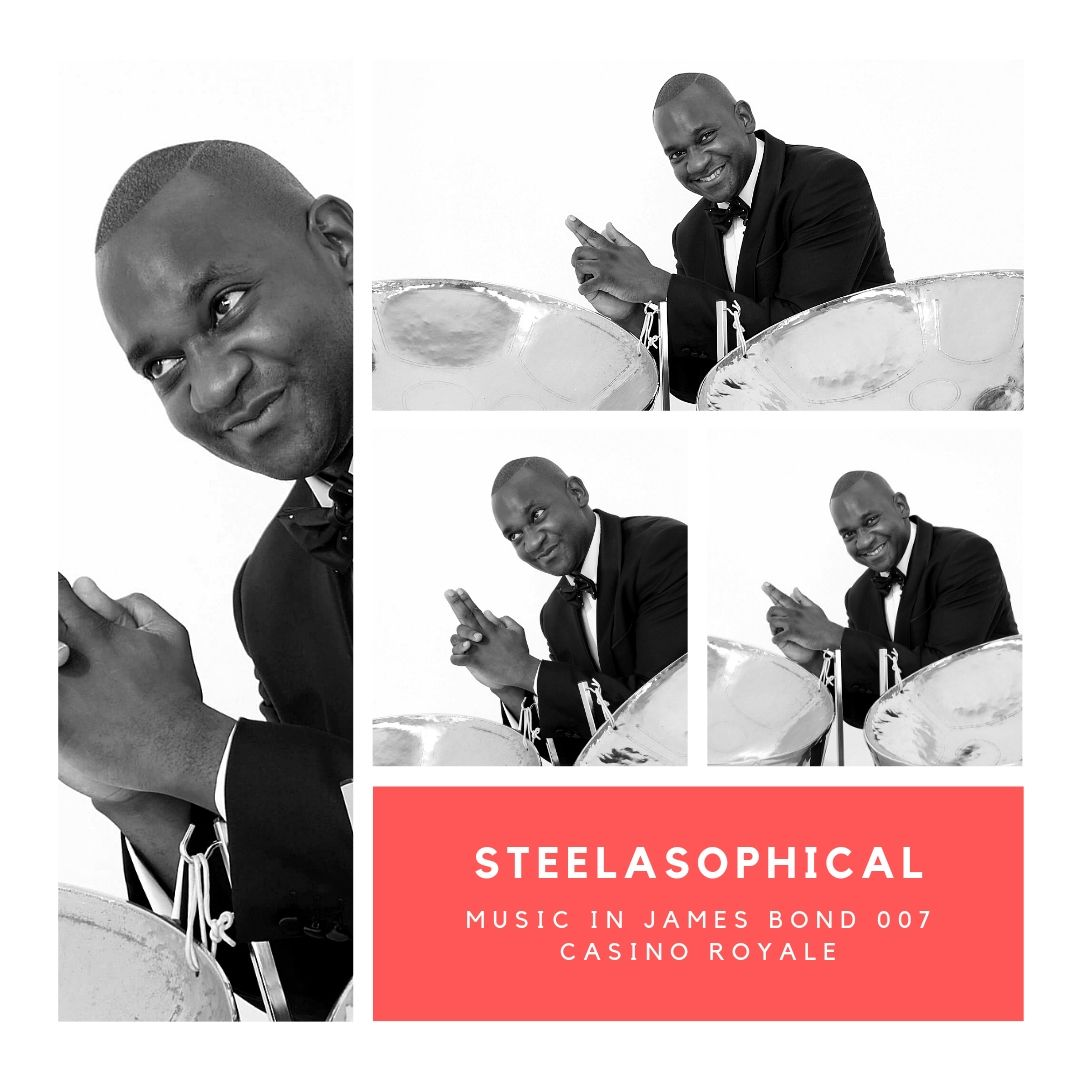 Gary Trotman Steelasophical James Bond 007 Casino Royale 1 Steel Band 001