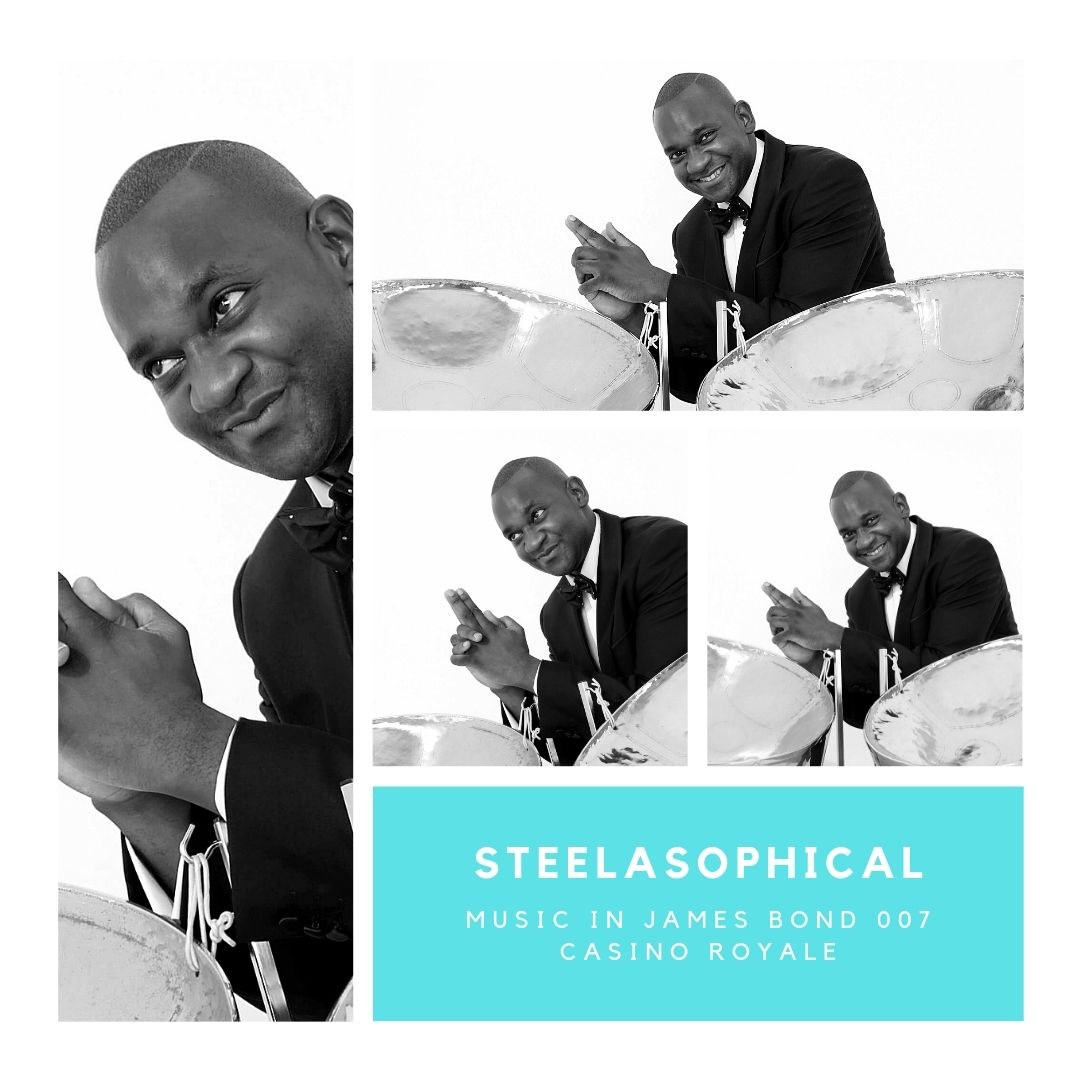 Gary Trotman Steelasophical James Bond 007 Casino Royale 1 Steel Band 0011