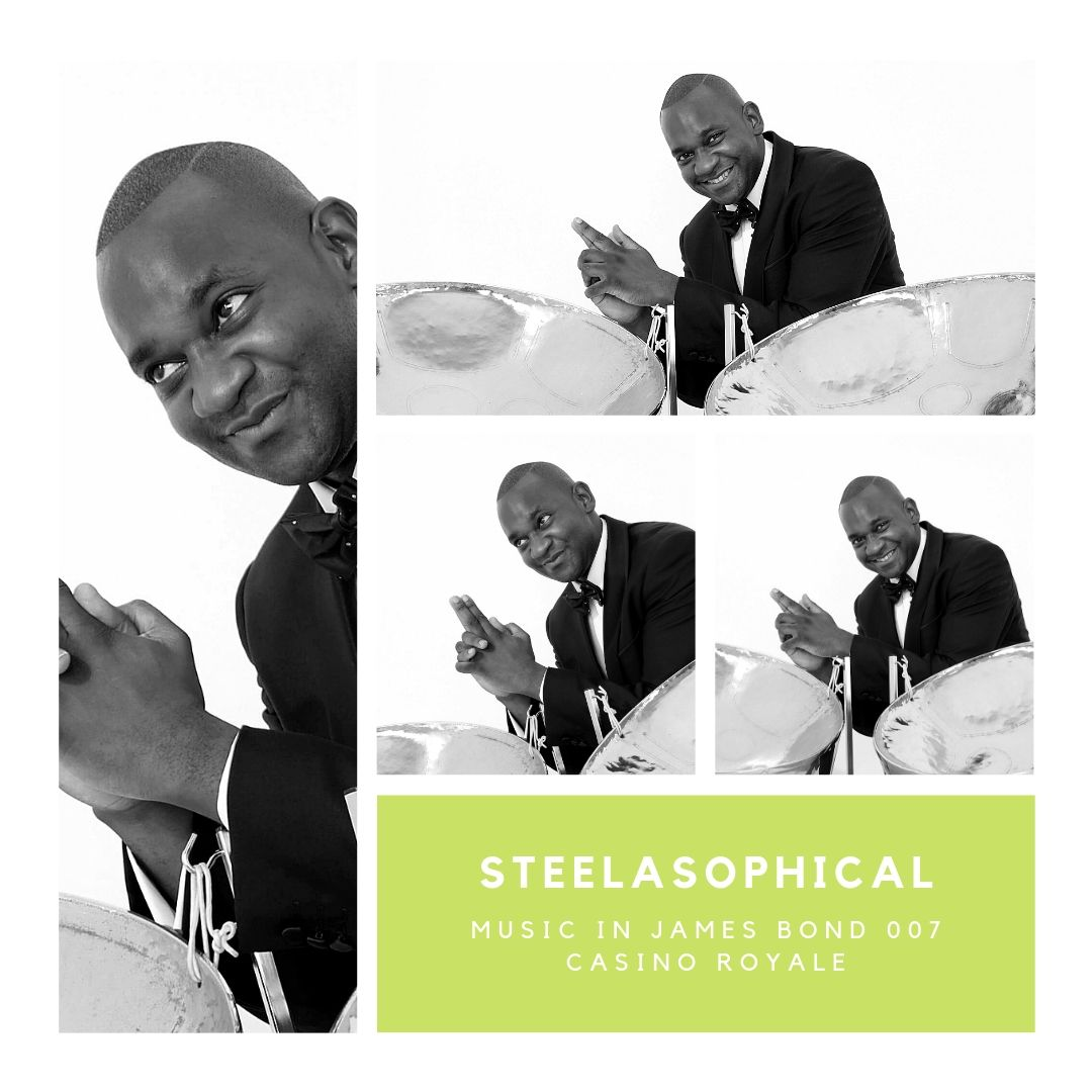 Gary Trotman Steelasophical James Bond 007 Casino Royale 1 Steel Band 0 Steelpan