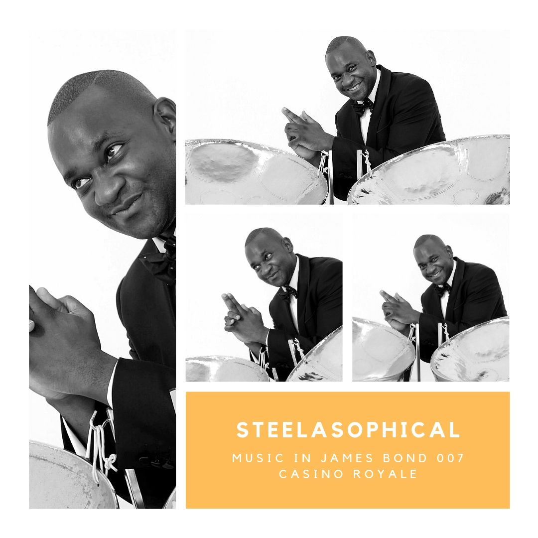 Gary Trotman Steelasophical James Bond 007 Casino Royale 1 Steel Weding Band 00 Steelpan 0
