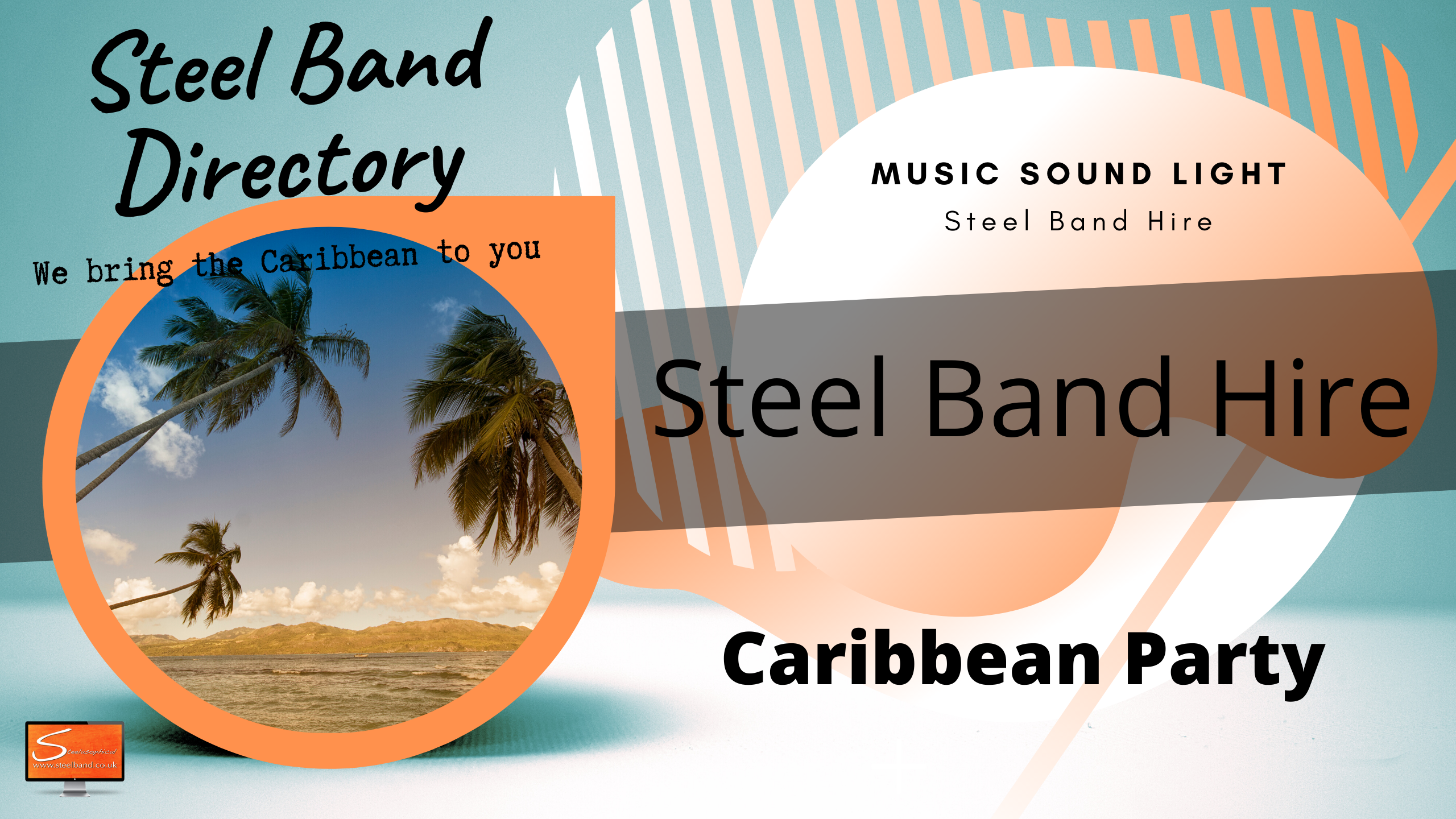 Caribbean Island steel bands for hire uk