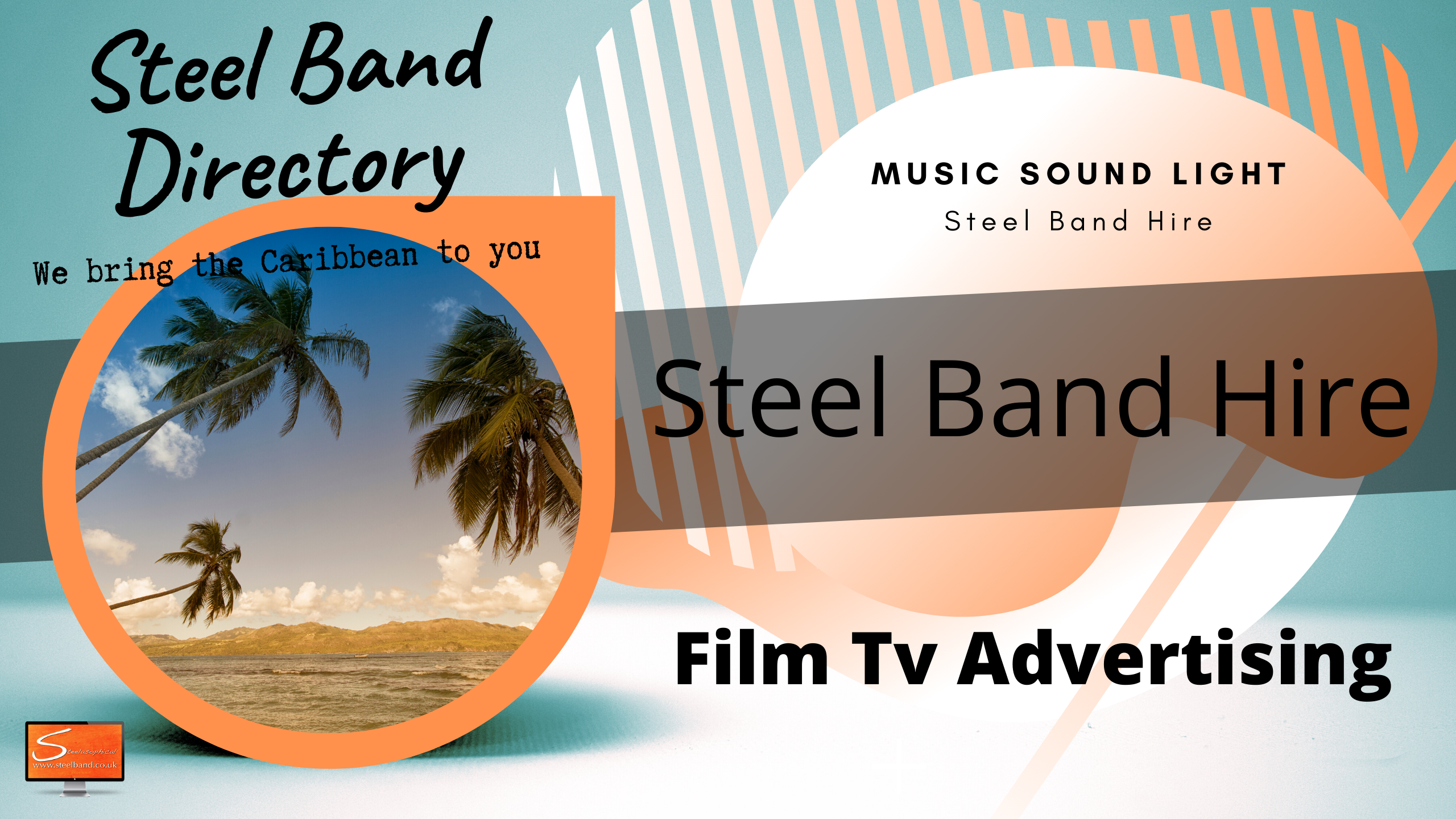 Caribbean Island steel bands for hire uk rr