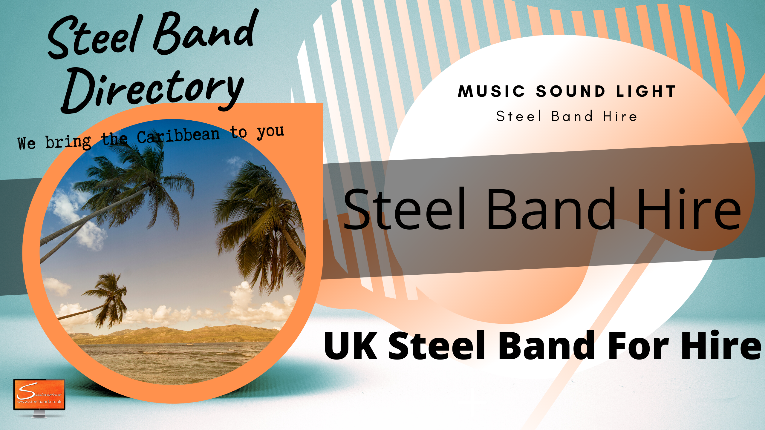 Find Steelband near me uk
